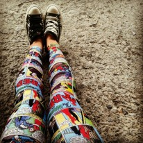 comic book legs from black milk